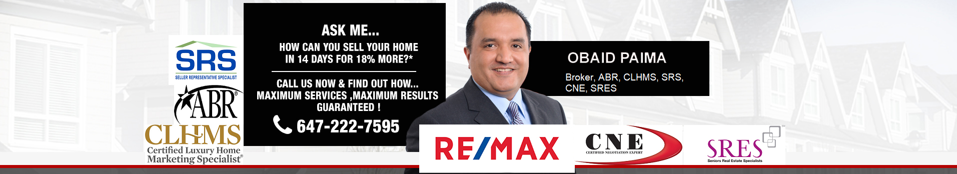 Searching for listings in Markham